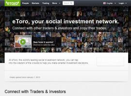 Etoro's social forex trading