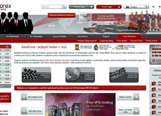 InstaForex, Banner Homepage, Review