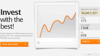 Zulutrade: Allows you to copy experienced traders
