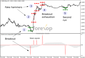 Trading the hammer formation