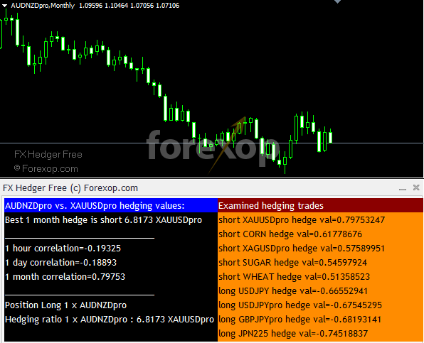 Forex hedging tools