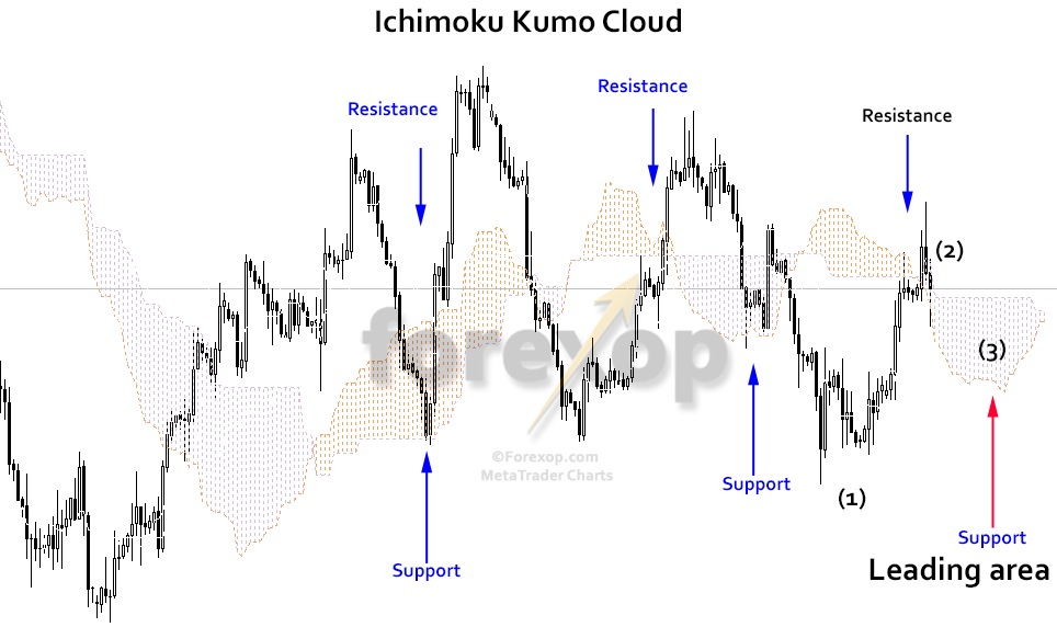 Figure 4: Kumo cloud and the lead span