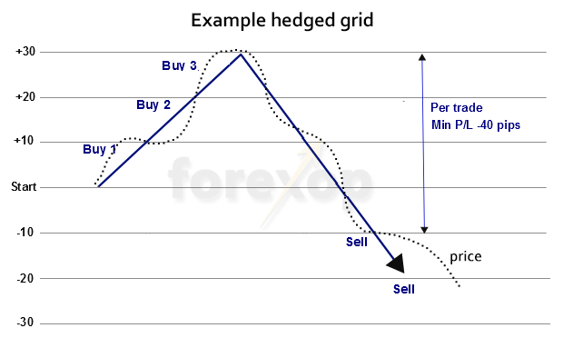 Figure 1: Example grid setup.